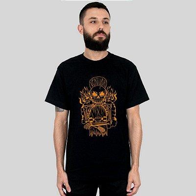 Camiseta Ventura Hellskater Preta