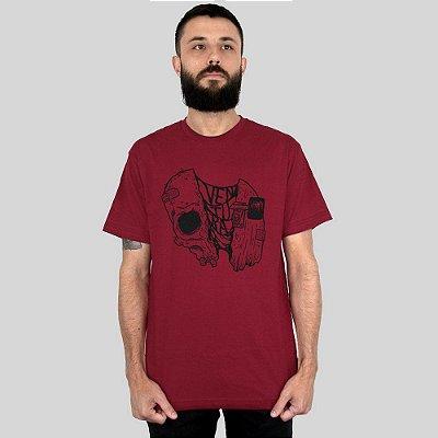 Camiseta Ventura Gus Vinho