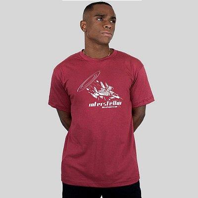Camiseta Bleed American Interstellar Vinho