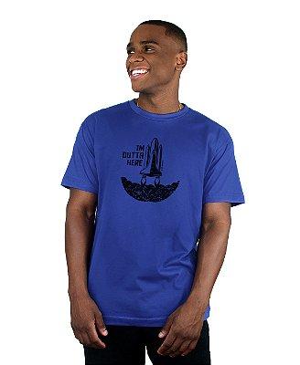 Camiseta Bleed Outta Here Azul
