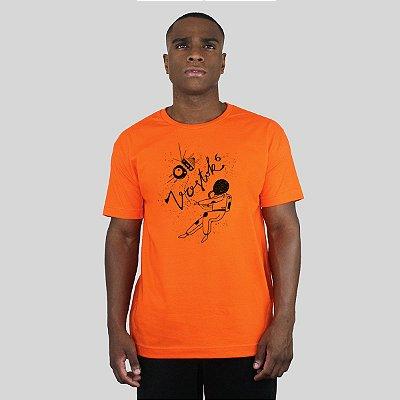 Camiseta Bleed Vostok Laranja