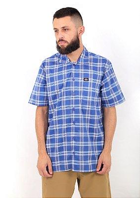 Camisa Dickies Xadrez Azul