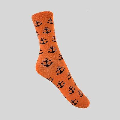 Meia Really Socks Navy Âncora