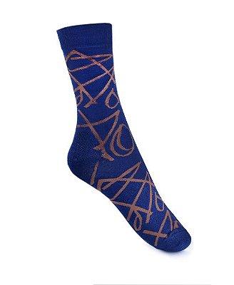 Meia Really Socks Navy Navy