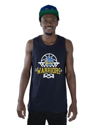 Regata New Era NBA Golden State Warriors Essentials
