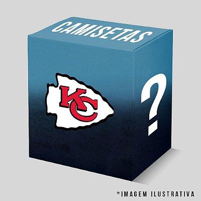 Kit - 3 Camisetas Kansas City Chiefs