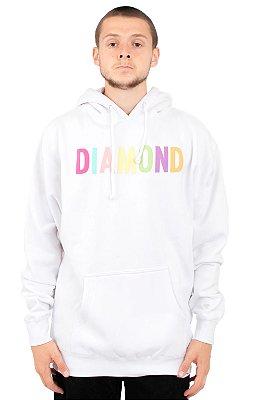 Moletom Diamond Supply Colour Pop - White