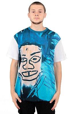 Camiseta Diamond Supply Co. x Basquiat Dos Cabezas -