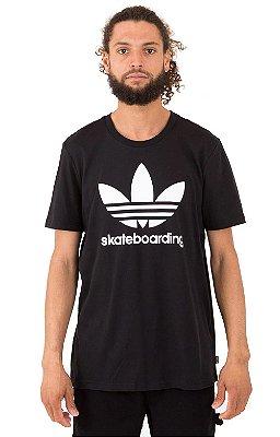 Camiseta Adidas Skateboarding Clima 3.0 - Black