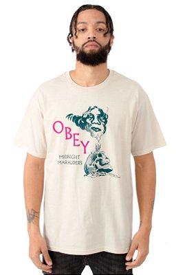 Camiseta Obey Midnight Marauders - Natural