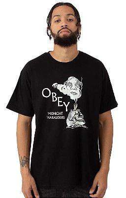 Camiseta Obey Midnight Marauders - Black