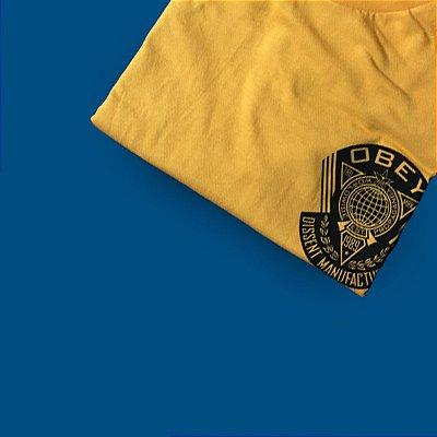 Camiseta Obey World - Gold