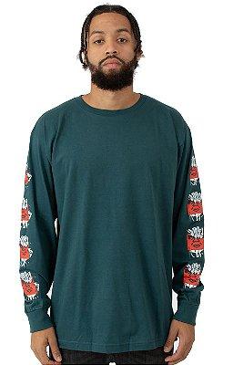 Camiseta Obey  Final Embrace - Green