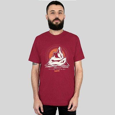 Camiseta Action Clothing Everest Vinho