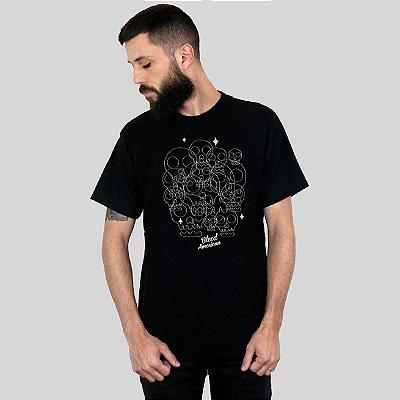 Camiseta Bleed Calaveritas