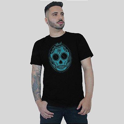 Camiseta Bleed Sugar Skull Preta
