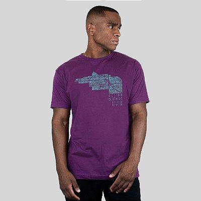Camiseta Action Clothing Latitude Roxa