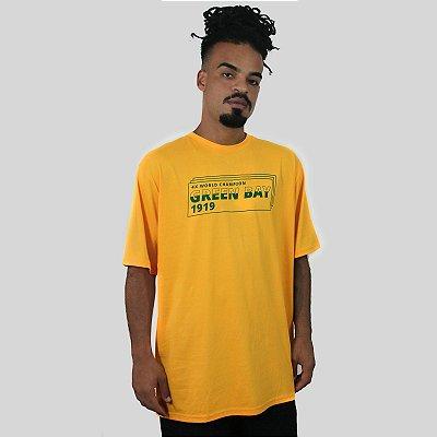 Camiseta The Fumble Division Green Bay Amarelo
