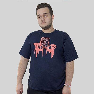 Camiseta Quimera Boteco Azul Marinho