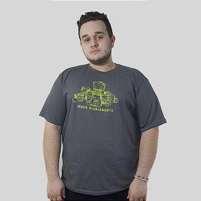 Camiseta Quimera Polpa Chumbo