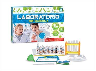 Laboratório de Química - kit de experiências