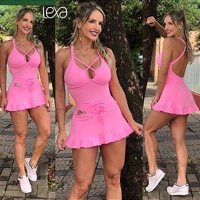 Body Rosa Ciclete Alana