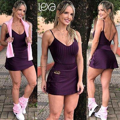 Saia Shorts Basica Uva