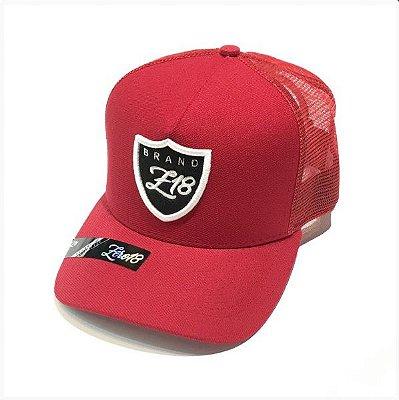 Boné Z18 Raiders Vermelho Tela