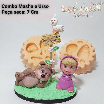 Combo Masha e Urso