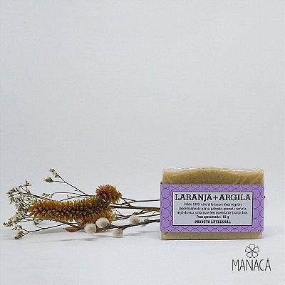 Sabão Natural - Laranja + Argila