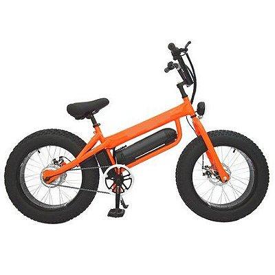 Fat Bike Aro 20 Elétrica 350w