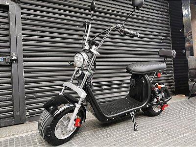 Scooter Harley de 2000w com guidão alto e banco único