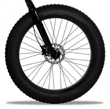 Roda dianteira aro 26 Fat Bike Completa