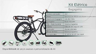 Kit Elétrico bagageiro