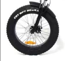 Roda dianteira aro 20 Fat Bike Elétrica Eco Zone