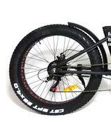 Roda traseira aro 26 e motor Fat Bike Elétrica Eco Zone