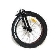 """Roda dianteira aro 26 Fat Bike Elétrica Eco Zone """"Sem Pneu"""""""