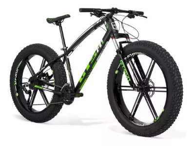 Fat Bike aro 26 Magnésio Shimano