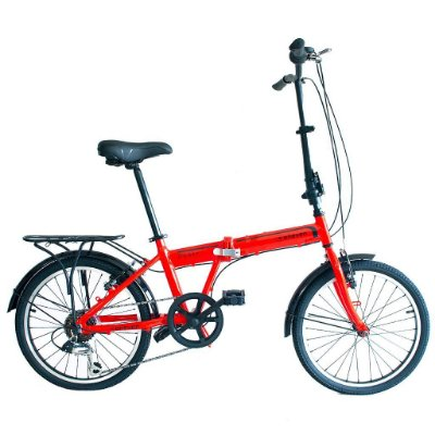 Bicicleta Dobrável Aro 20 Elleven Dubly 6v Alumínio