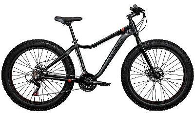 Fat Bike Aliens K7 11v Freio Hidraulico SHIMANO