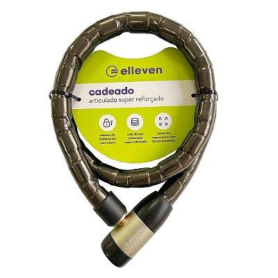 CADEADO 1,2M 22MM ELLEVEN REFORC C/CHAVE