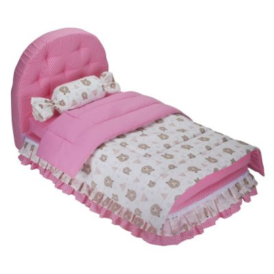 Cama Box Pet - Rosa