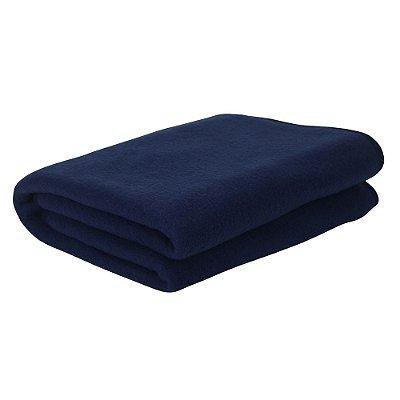 Manta em Soft - Azul Marinho