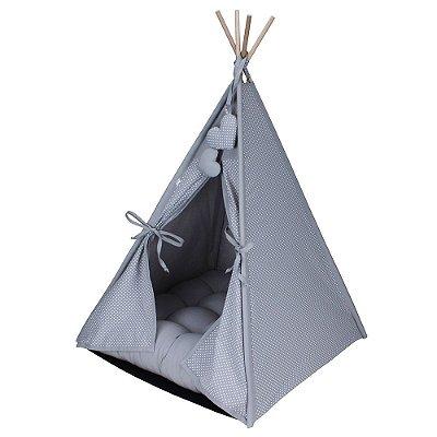 Cabana Camping Pet - Cinza Poá - Tamanho Único