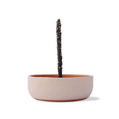 Incensário de Cerâmica Tiê Fênix | Porta Incenso