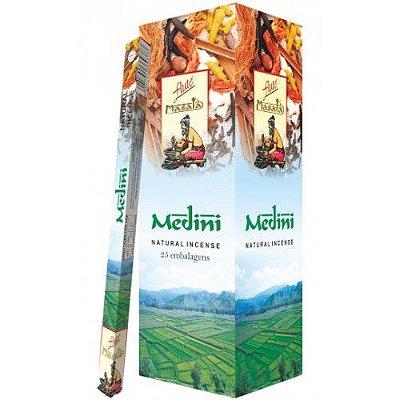 Incenso Massala Flute MEDINI (25 Caixas C/ 7 Varetas)