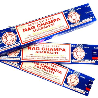 Incenso Nag Champa Agarbatti Satya Sai Baba 1 Caixa 15g