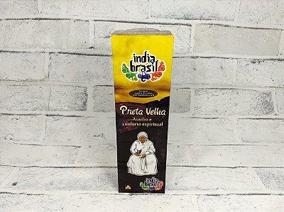 Incenso Premium PRETA VELHA Kit 5 Caixas Fechadas 1000 Varetas
