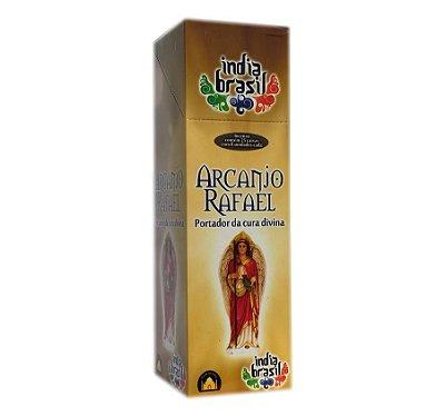 Caixinha de Incenso ARCANJO RAFAEL com 8 Varetas | Indiano | Varejo