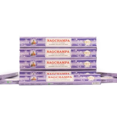 Incenso Nag Champa Agarbathy Flute 10 Caixas